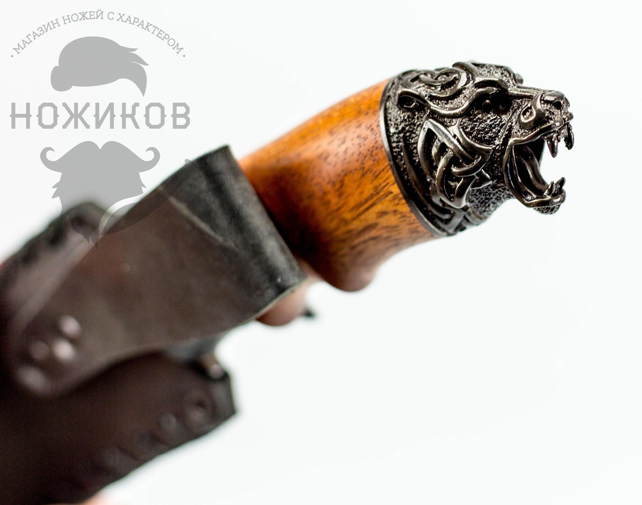 Фото 5 - Авторский Нож из Дамаска №82, Кизляр
