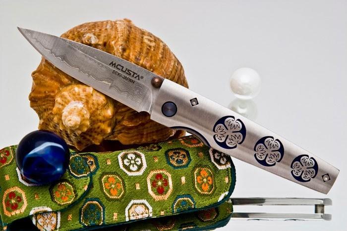 Купить Складной нож Mcusta Aoi MC-91D ,VG-10,420J2 в России