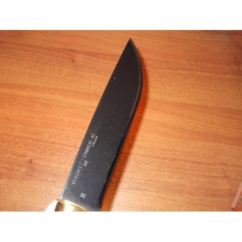 Нож с фиксированным клинком Strmeng Samekniv KS8 LX 20.6 см.