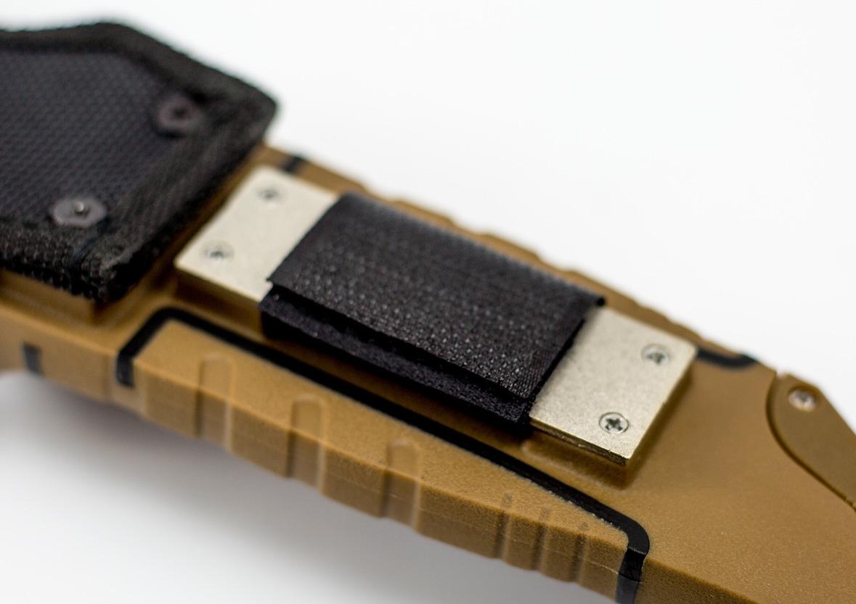 Фото 6 - Нож для выживания Ganzo G8012, коричневый