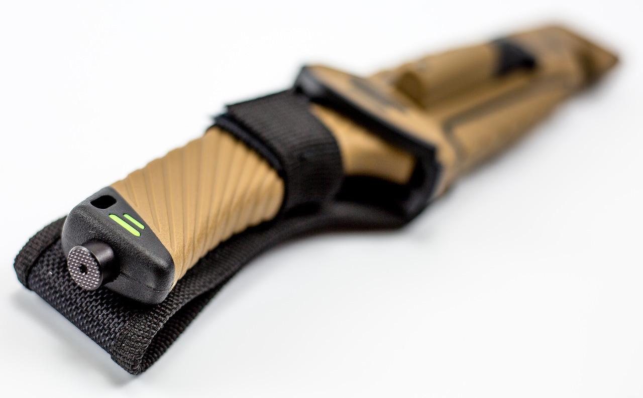 Фото 3 - Нож для выживания Ganzo G8012, коричневый