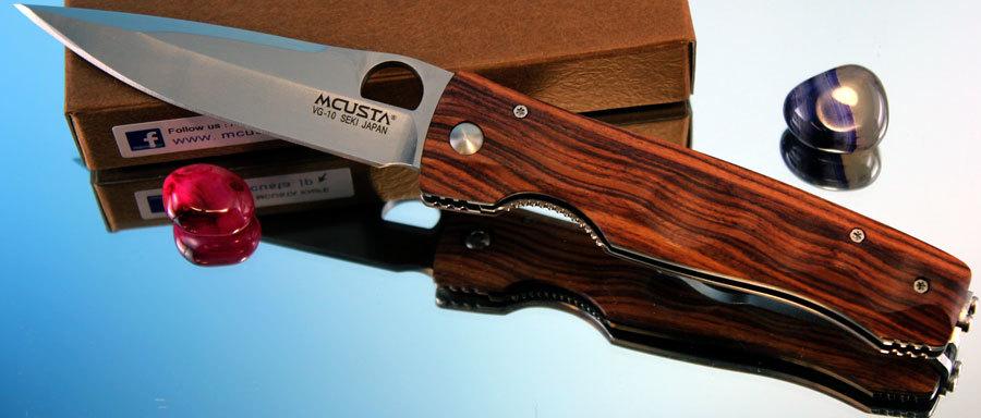Купить Складной нож Mcusta MC-0122R, VG-10, дерево в России