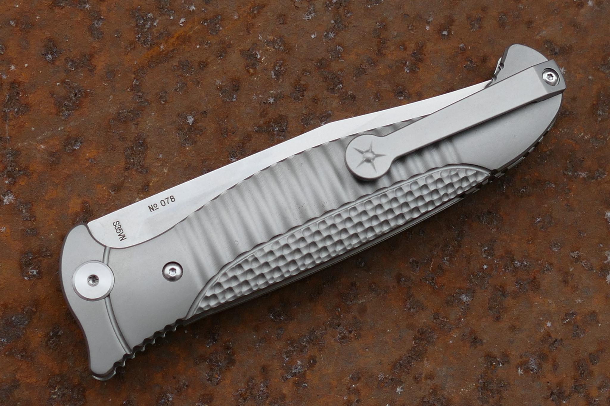 Фото 3 - Складной нож Финка-3, S35VN от Reptilian