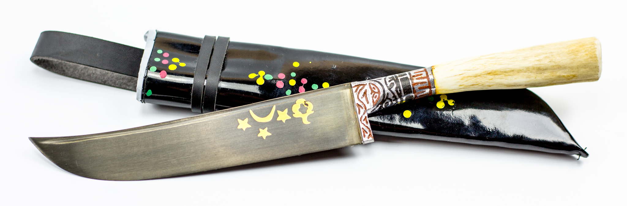 Пчак Сайгак миниУзбекские ножи Пчак<br>Узбекский универсальный нож Пчак.<br>