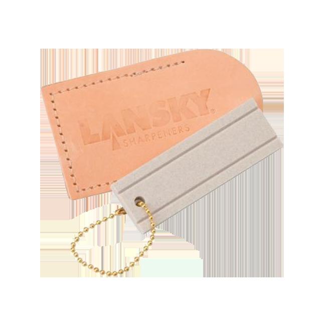 Lansky камень точильный карманный Arkansas в чехлеБруски и камни<br>Точилка для ножей Lansky Pocket Stone LSAPS – недорогая, простая, небольшая. Не обременит, если взять ее с собой на вылазку, в поход или на дачу. Позволит быстро восстановить заточку лезвия ножа.<br>