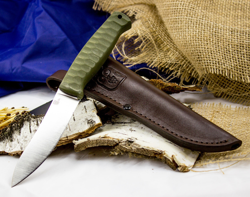 Шкуросъёмный разделочный нож Strix, сталь Sleipner