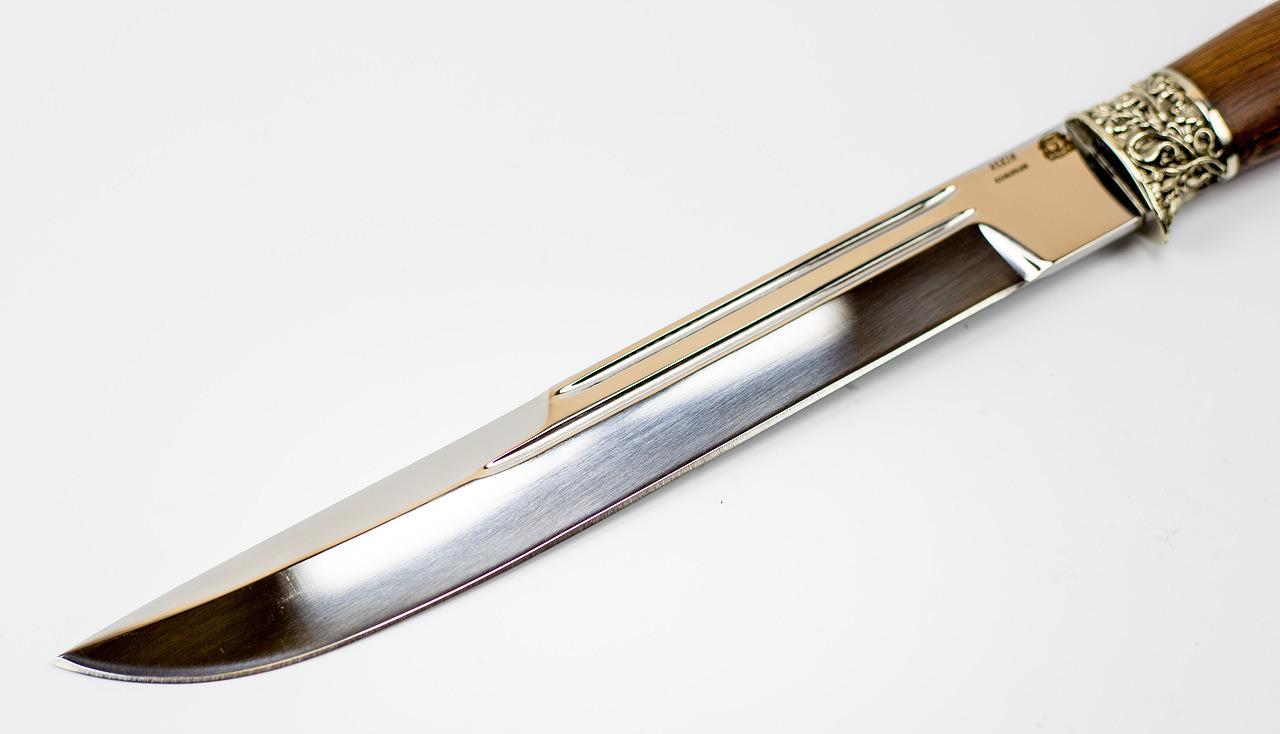 Фото 7 - Нож Пластунский Казачий, сталь 95х18, рукоять орех от Мастерская Сковородихина