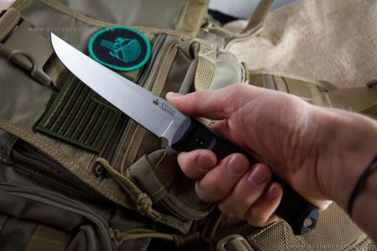 Фото 3 - Тактический нож Croc AUS-8 S, Кизляр от Kizlyar Supreme