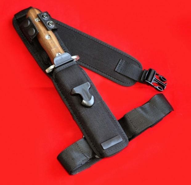Фото 3 - Нож с фиксированным клинком Extrema Ratio 39-09 Сombat Compact Special Edition (Single Edge), сталь Bhler N690, рукоять дерево