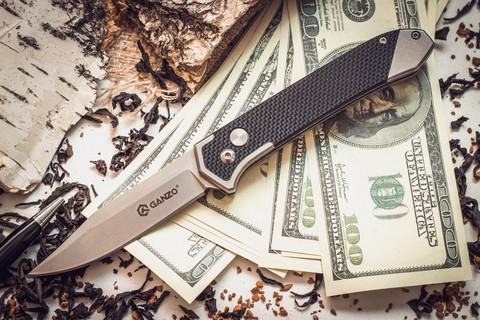 Нож Ganzo G719 черный - Nozhikov.ru