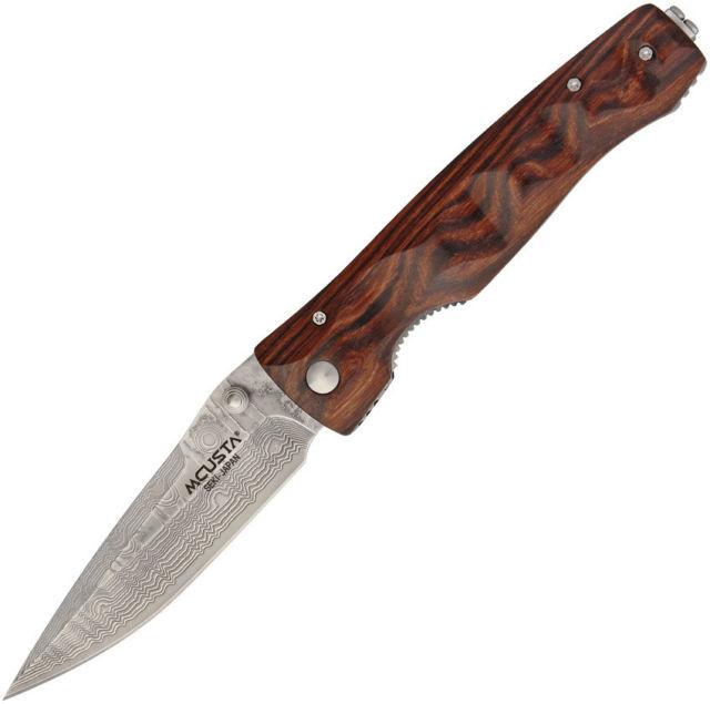 Фото - Складной нож Mcusta MC-0122DR, VG-10, дерево