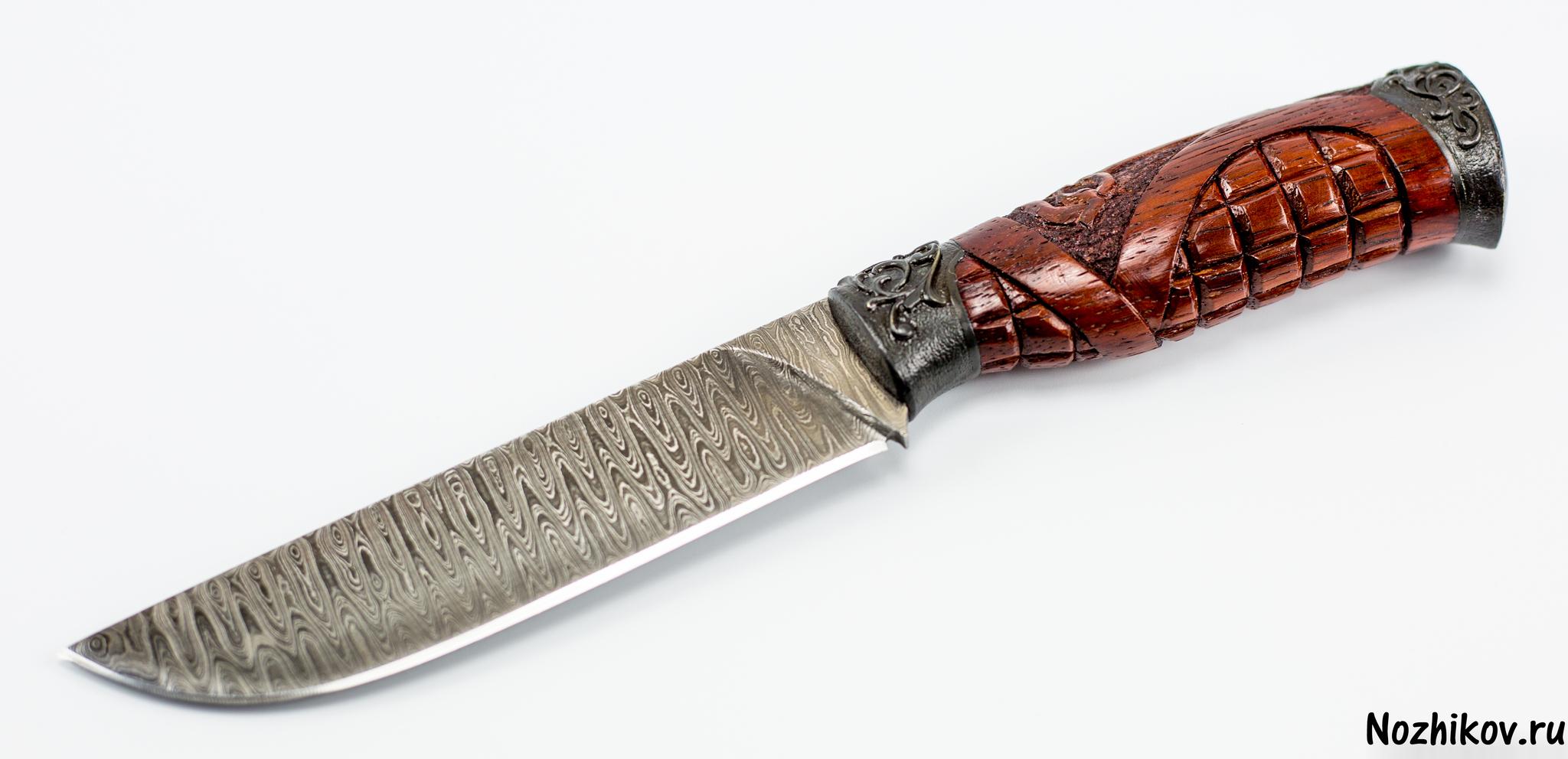 Фото 2 - Авторский Нож из Дамаска №9, Кизляр от Noname