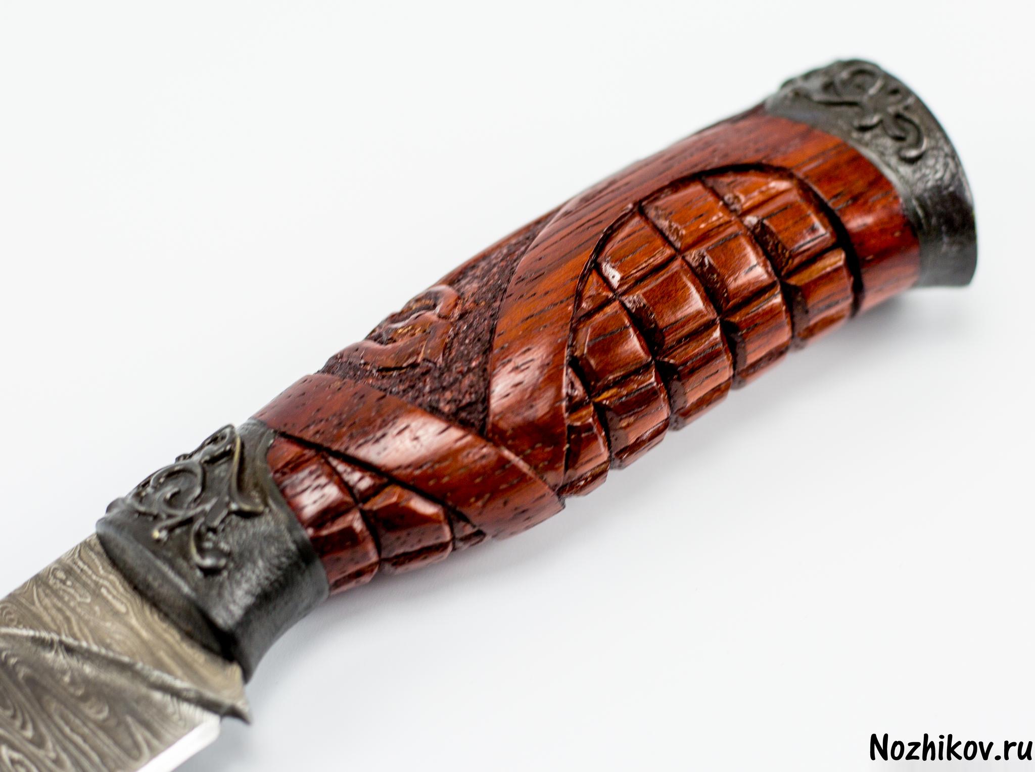 Фото 3 - Авторский Нож из Дамаска №9, Кизляр от Noname