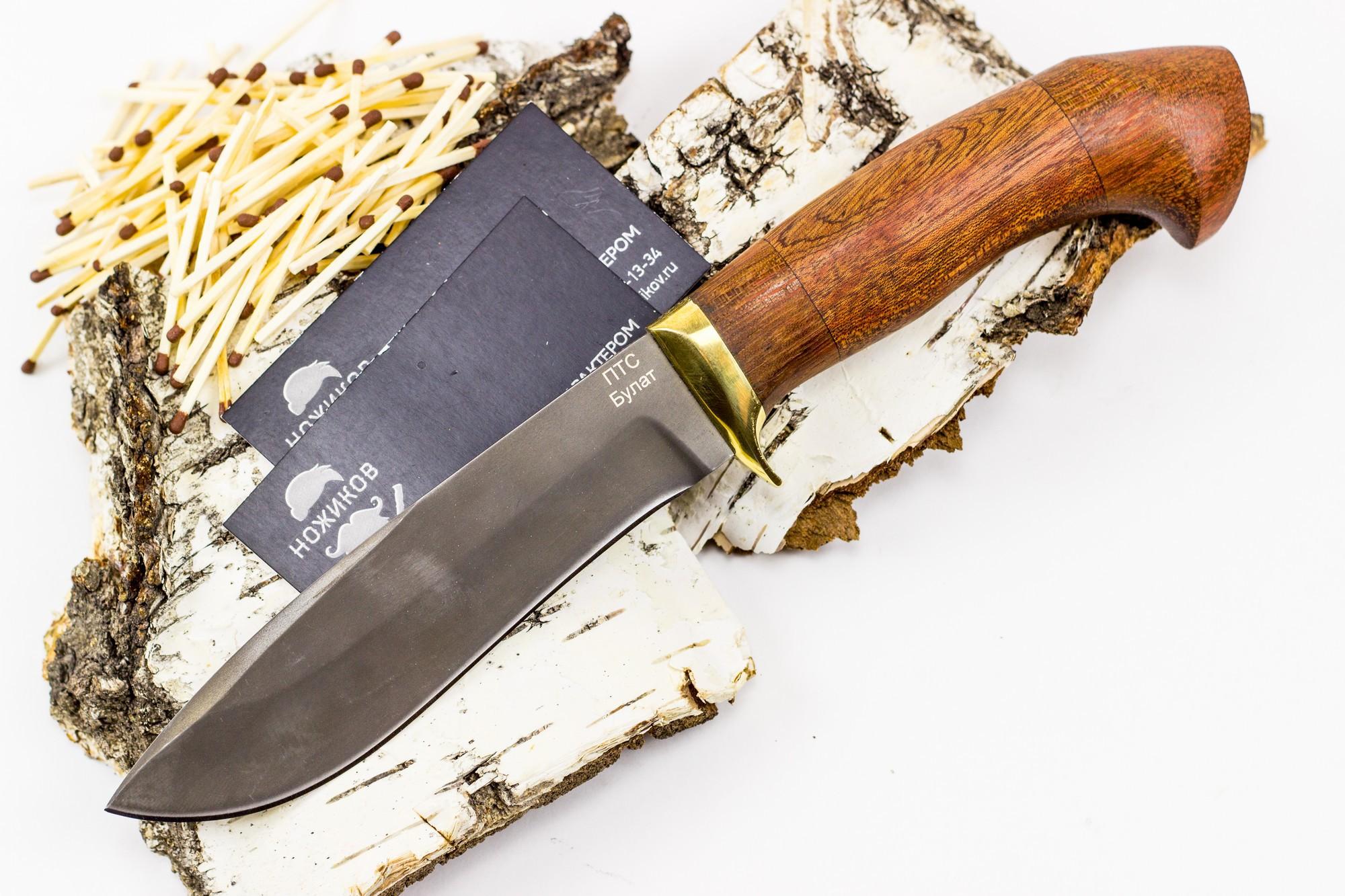 Нож булатный ТюленьНожи Ворсма<br>Нож «Тюлень» орех,Сталь ножа:булатОбщая длина ножа(мм): 250-260Толщина клинка(мм):4,0Твердость клинка(HRC): 62-64Рукоять ножа: орехНожны: натуральная кожаСертификат в комплекте с ножом.<br>