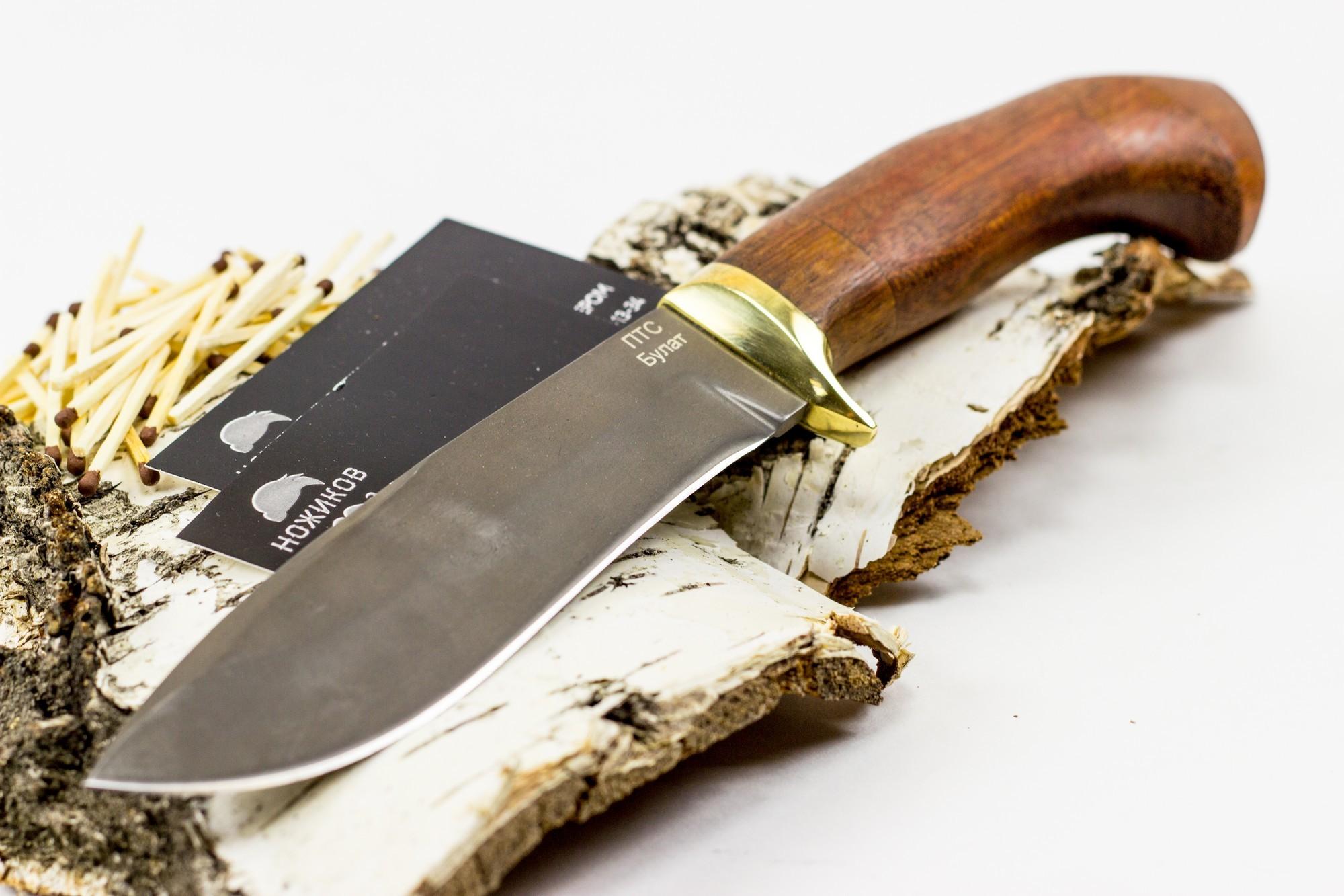 Фото 2 - Нож булатный Тюлень от Noname