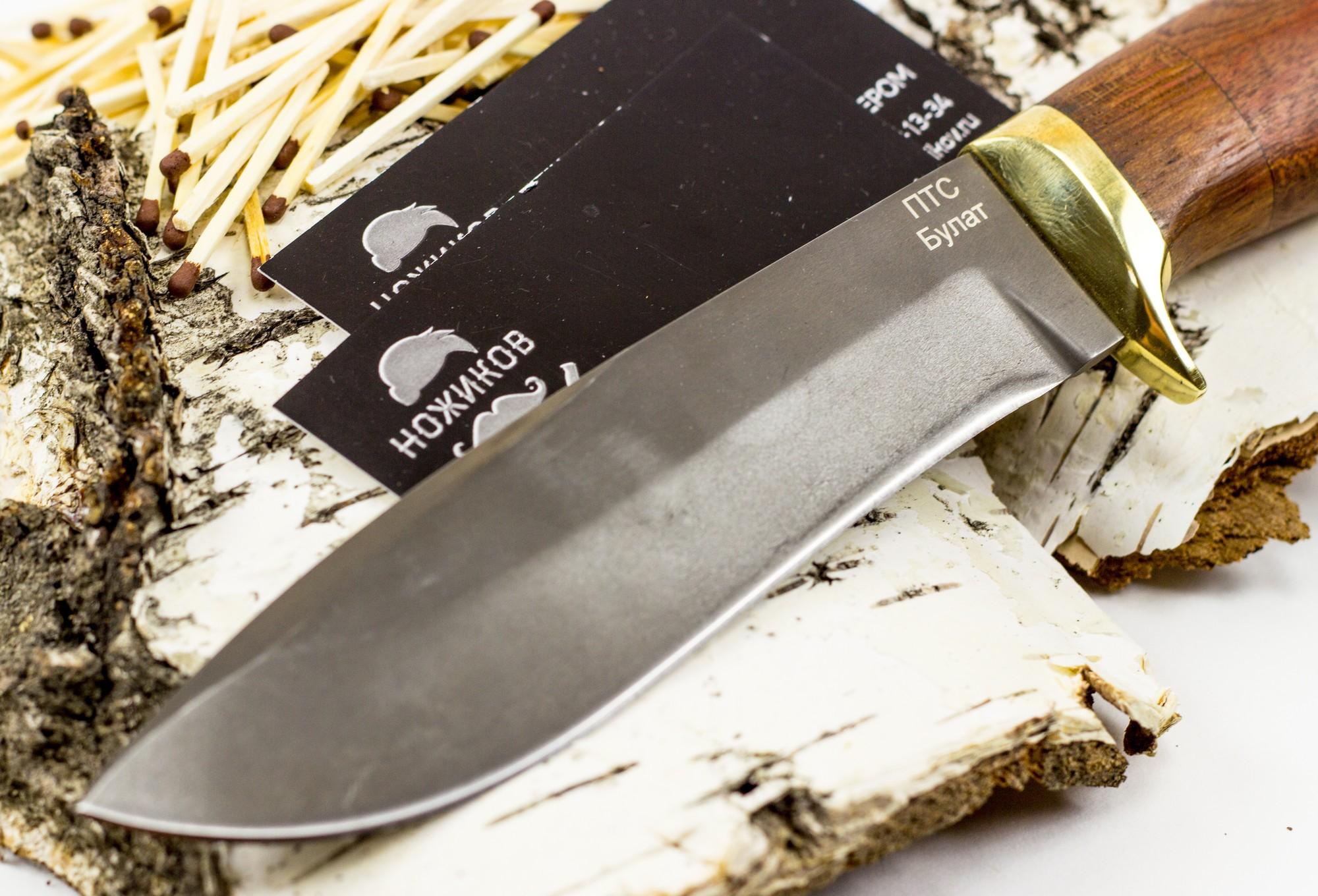 Фото 3 - Нож булатный Тюлень от Noname