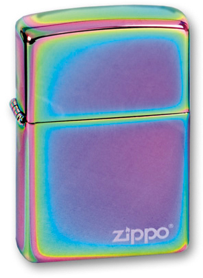 Зажигалка ZIPPO Classic с покрытием Spectrum™ disco spectrum
