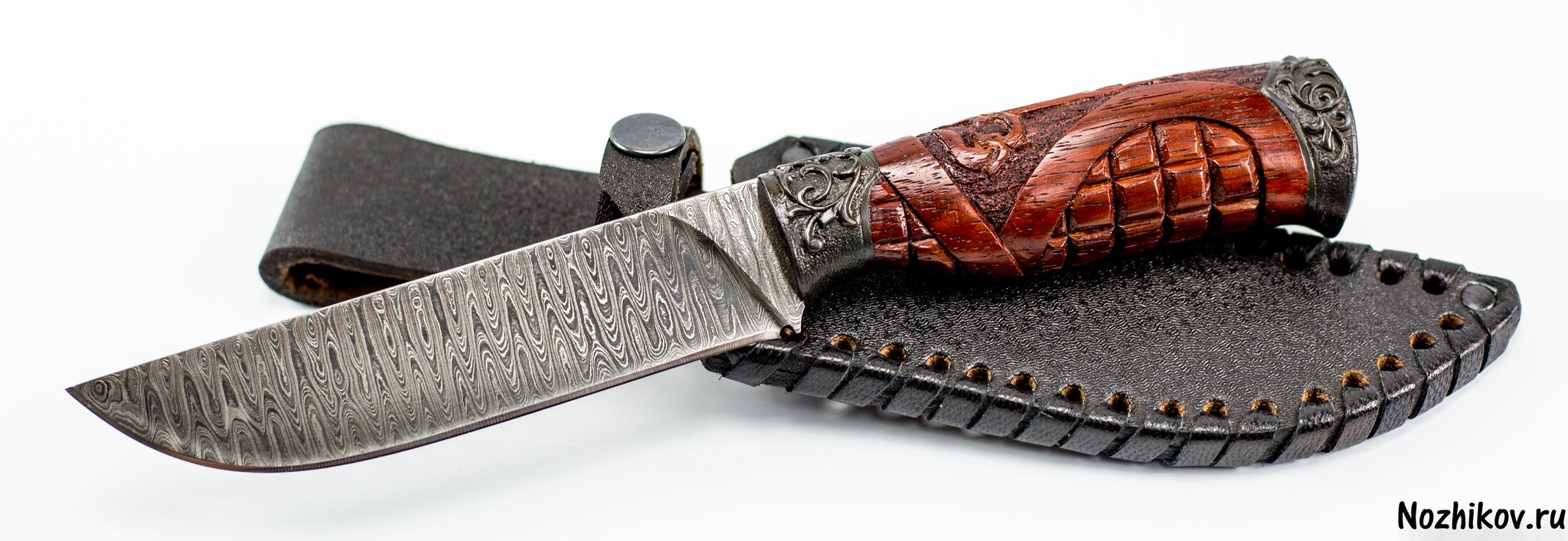 Фото 5 - Авторский Нож из Дамаска №9, Кизляр от Noname