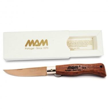 Нож MAM Douro 5000 ручка бубинга, цвет клинка бронзаРаскладные ножи<br>Нож MAM Douro 5000 ручка бубинга, цвет клинка бронзаТип замка: Liner lockДлина клинка, мм: 90Сделано в Португалии.<br>