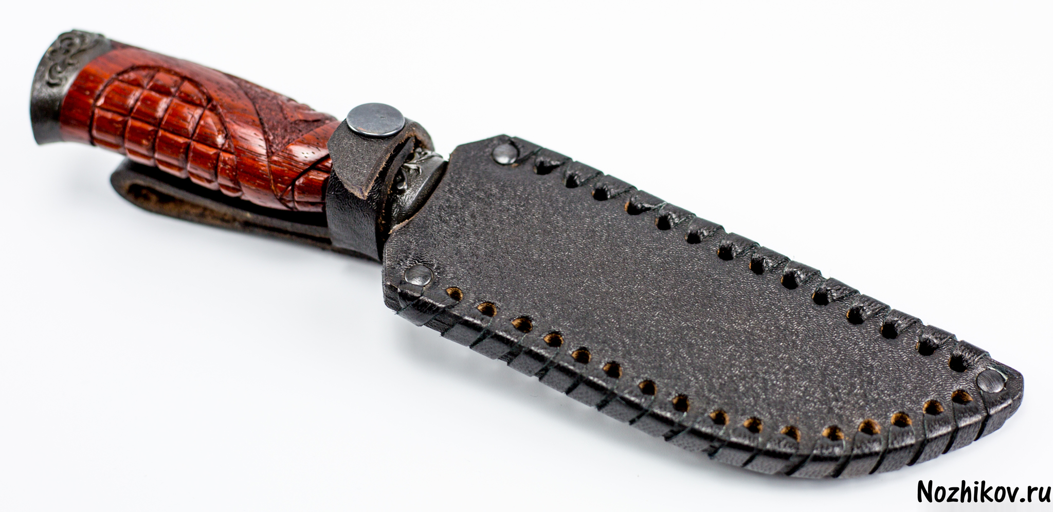 Фото 6 - Авторский Нож из Дамаска №9, Кизляр от Noname