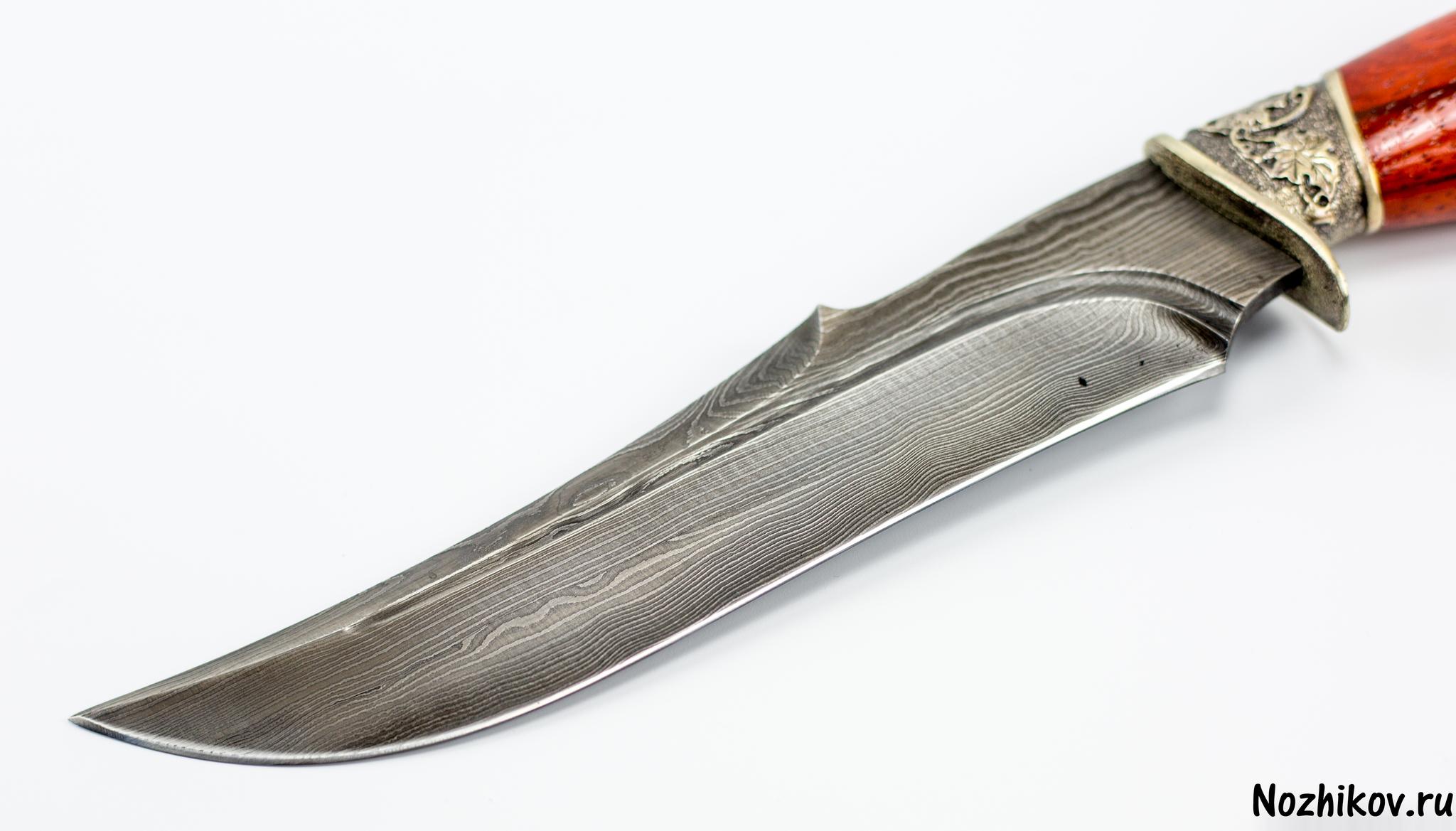 Фото 3 - Авторский Нож из Дамаска №25, Кизляр от Noname
