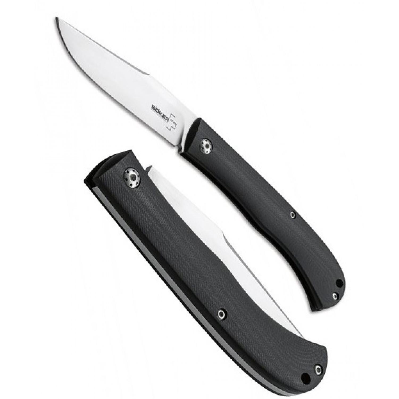 Фото 3 - Нож складной Slack (Raphael Durand Design), Boker Plus 01BO065, сталь VG-10 Satin, рукоять стеклотекстолит G10