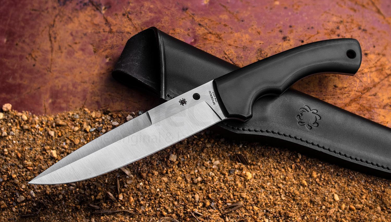"""Нож с фиксированным клинком Spyderco Sustain от Магазин ножей """"Ножиков"""""""