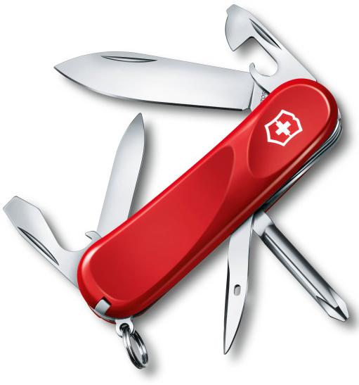 Нож перочинный Victorinox Evolution 11 2.4803.E 85мм 13 функций красный