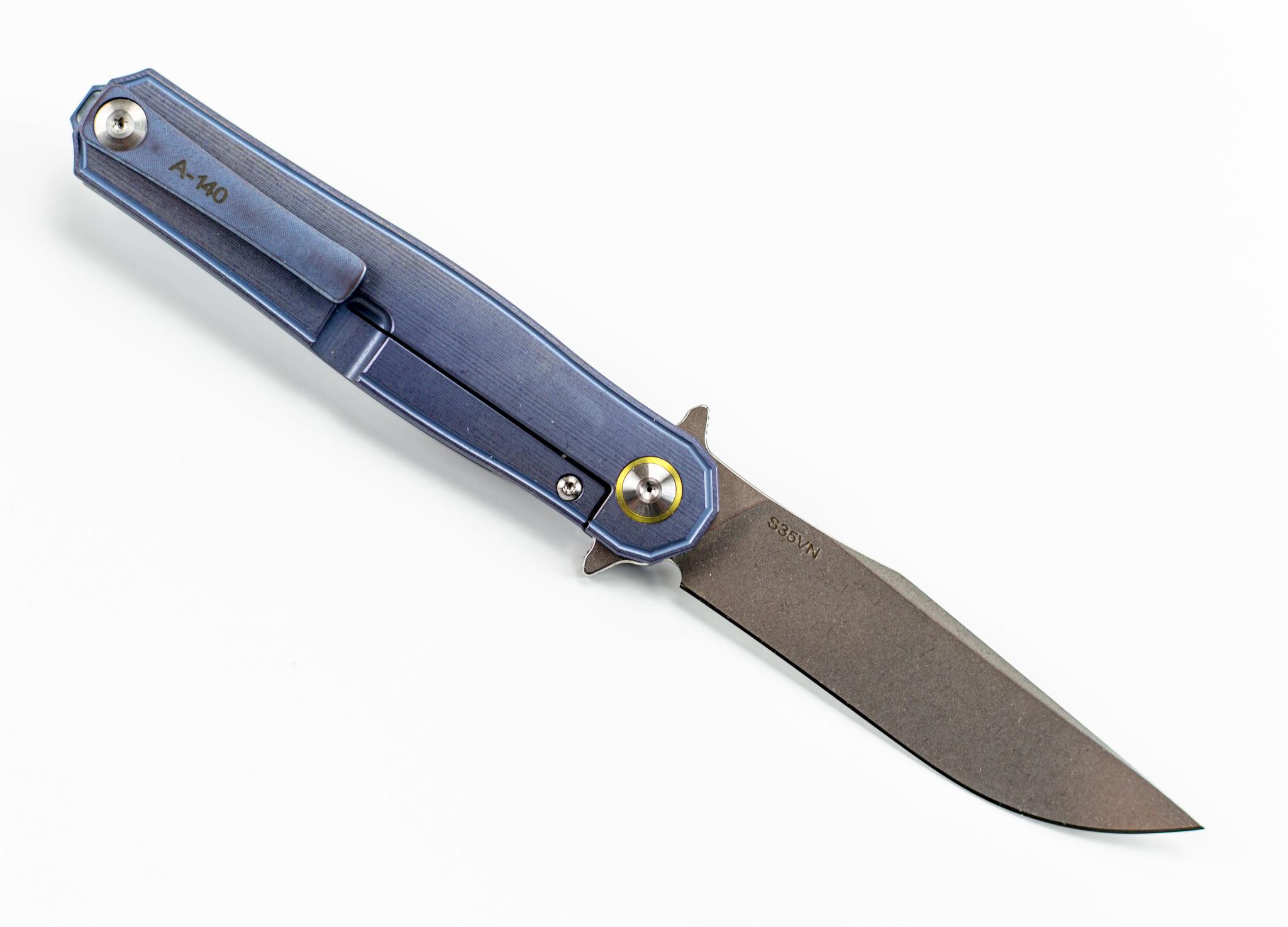 Фото 12 - Складной нож CH3505 Blue сталь S35VN от ch outdoor knife