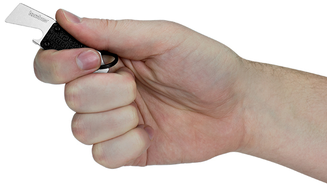 Фото 2 - Брелок мультитул Kershaw Pry Tool-1 K8800X, сталь 8Cr13MoV, рукоять термопластик GRN