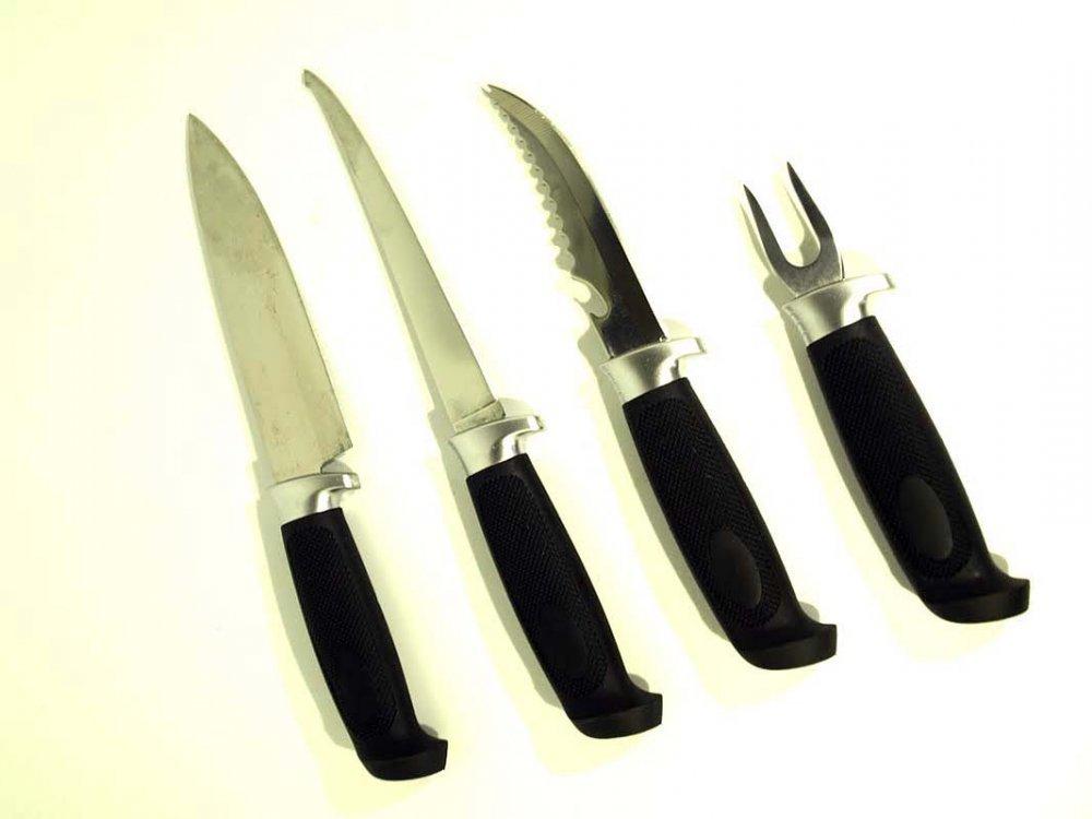 """Комплект для разделки рыбы «Набор удачливого рыбака» от Магазин ножей """"Ножиков"""""""