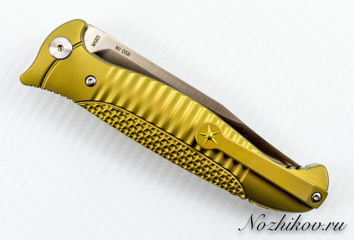 Фото 7 - Складной нож Финка-2, S35VN от Reptilian