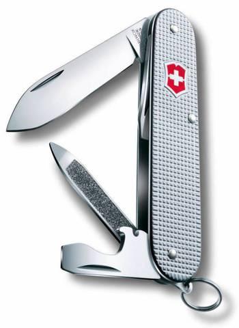 Нож перочинный Victorinox Cadet 0.2601.26 84мм 9 функций серебристый - Nozhikov.ru