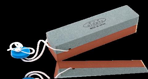 Камень точильный водный комбинированный 135*30*30мм грубый/средний компактный #250/#1000 - Nozhikov.ru