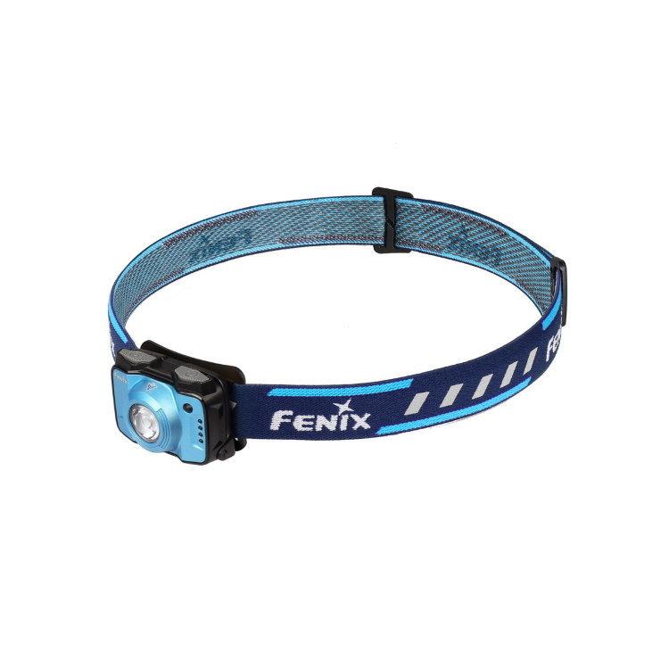 Налобный фонарь Fenix HL12R Cree XP-G2, синийБренды ножей<br>Фонарь Fenix HL12 – компактная налобная модель для туризма и занятий спортом на природе. Этот фонарь укомплектован всем необходимым, чтобы надежно работать в полевых условиях и обеспечивать своему владельцу комфортные условия видимости в любой ситуации. Данный фонарь работает с двумя встроенными диодами: белым XP-G2производства американского бренда Cree и вспомогательным красным. Доступное для него количество рабочих режимов – 8. Но все эти режимы распределены между двумя группами, поэтому выбрать нужный будет не сложно. К тому же, система управления в данной модели сделана действительно логичной.<br>В группу General mode вошли 4 режима яркости белого света. Среди них наиболее яркий – это режим High, который дает 170 люмен света. В этом режиме фонарь светит на 36 метров вокруг. Энергии аккумулятора достаточно, чтобы поддерживать его на протяжении 8 часов. Следующий в прядке убывания яркости – режим Med. Его яркость равна 70 люмен, притом, что свет распространяется на 26 метров вокруг фонаря. Заряда встроенного аккумулятора хватает для работы фонаря в течение 13 часов. Еще ниже яркость в режиме Low- 30 люмен. В данном режиме фонарь освещает объекты в радиусе 17 метров, работая автономно до 33 часов. Наконец, в режиме Eco модель Fenix HL12 светит с яркостью 4 люмена. В данном случае радиус освещения составляет всего 7 метров, зато фонарь может работать беспрерывно до 110 часов.<br>Вторая группа режимов называется Functionalmode и объединяет 3 варианта освещения. Первый из них – это режим Red. Он дает постоянный красный свет, яркость которого равна 1 люмен. Радиус освещения составляет 3 метра, а время работы фонаря – 40 часов. С такой же яркостью и радиусом освещения работает режим RedFlash. Это мигающие вспышки красного света. Фонарь Fenix HL12 может работать в таком режиме 80 часов. Третий режим из группы – SOS. Яркость луча составляет 30 люмен, радиус освещения – 17 метров, а период работы фонаря – 66 часо