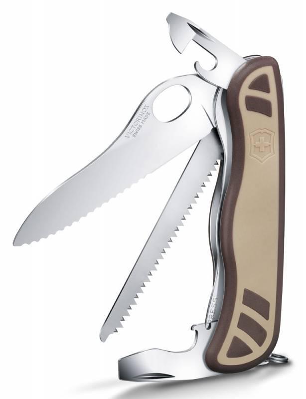 Нож перочинный Victorinox Trailmaster (0.8461.MWC941) 10 функцийРаскладные ножи<br>В ножей идет следующий перечень функций -1 Замок для открытия лезвия одной рукой2 ОтверткаPhillips 3 Открывашка4 Маленькая отвертка5 Шило6 Отвертка7 Нож для зачистки проводов8 Расширитель9 Кольцо10 Пила по дереву<br>