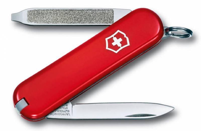 Нож перочинный Victorinox Escort 0.6123 58мм 6 функций красный