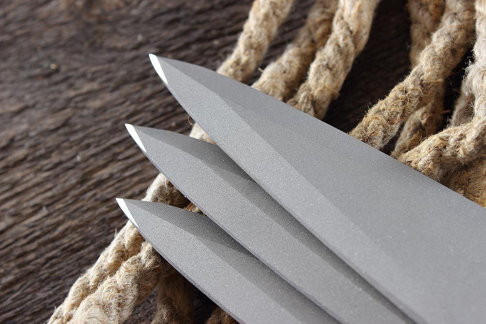 Фото 10 - Набор метательных ножей SPIRE satin от Mr.Blade
