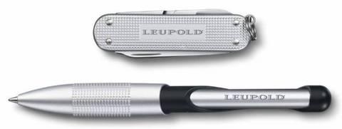 Подарочный набор Victorinox 4.4346.2 нож 0.6221.26 + ручка Cabrio ручка с синей пастой серебристый - Nozhikov.ru