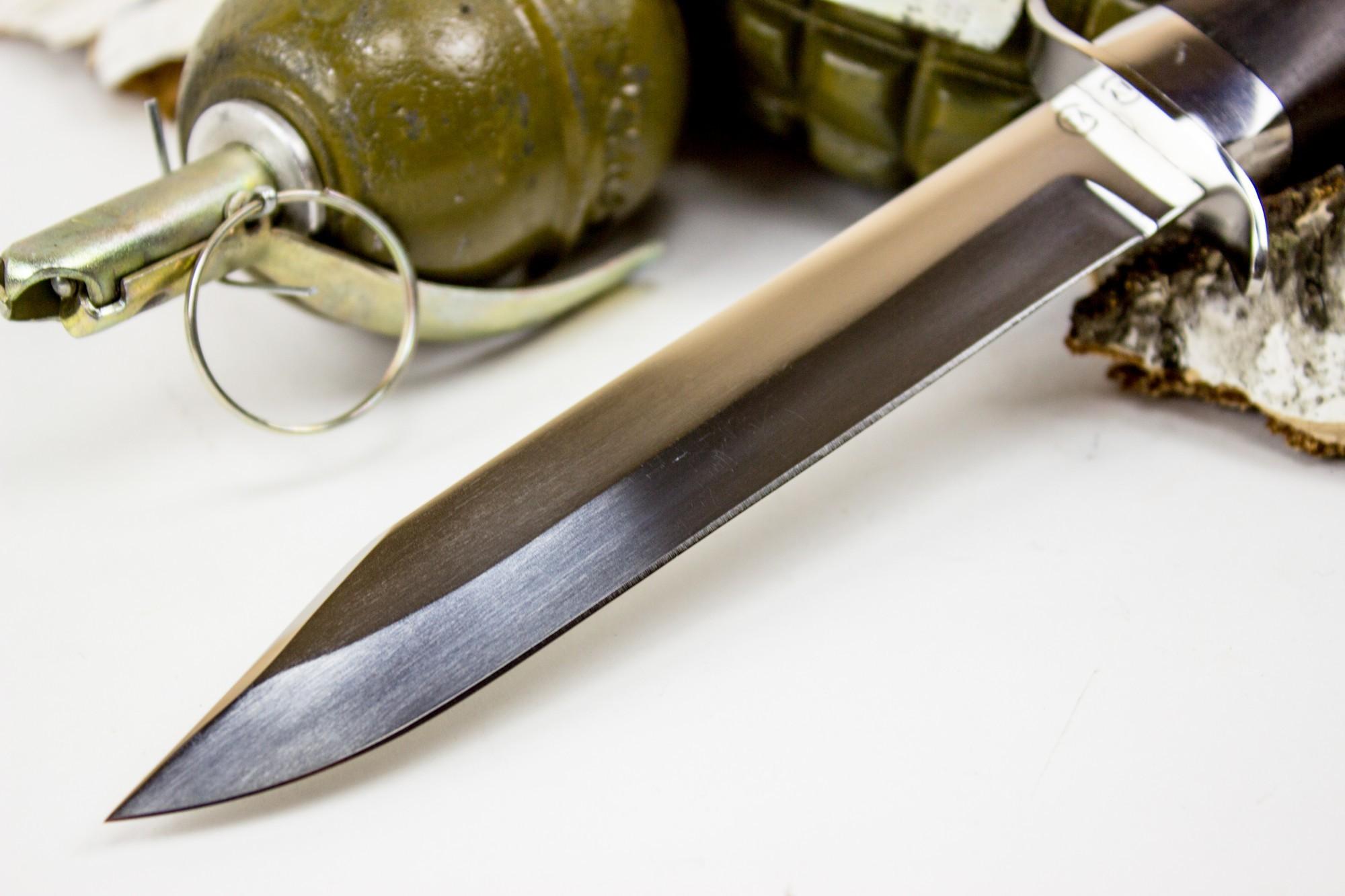 "Нож Спецназ Вишня, сталь 95х18, граб от Магазин ножей ""Ножиков"""