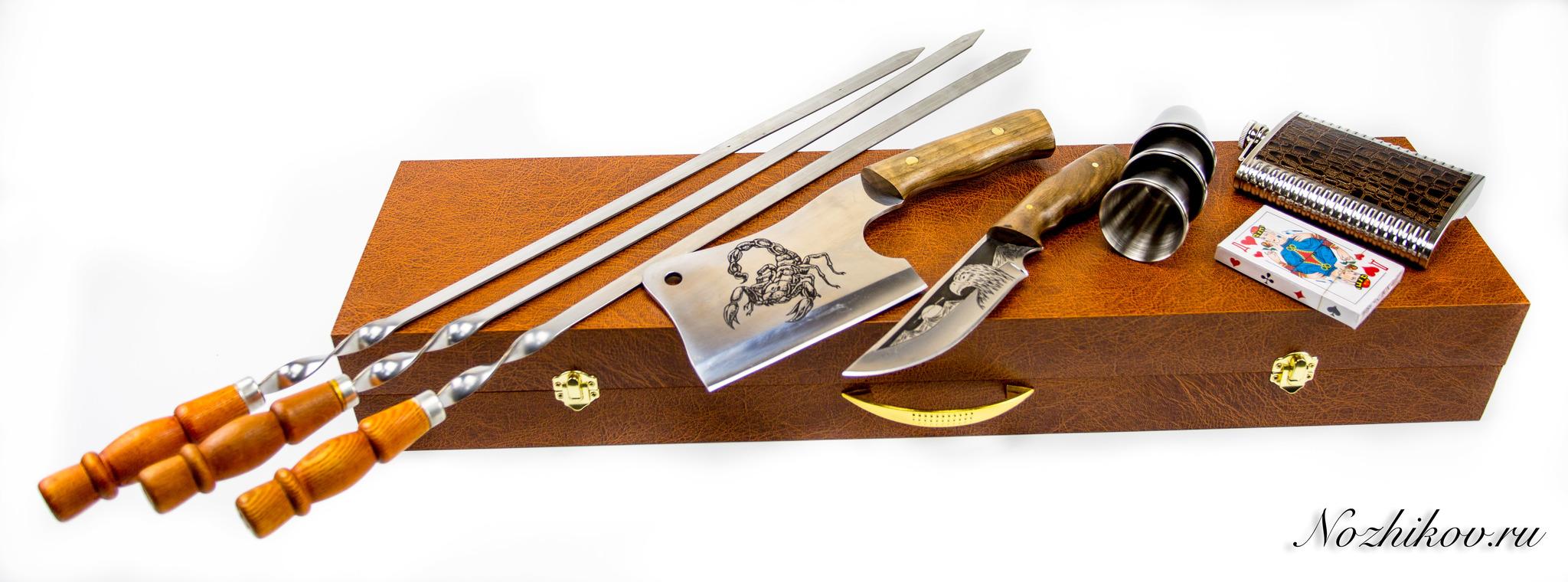 Фото 3 - Шашлычный набор Боярский №2, Кизляр от Кизляр СТО