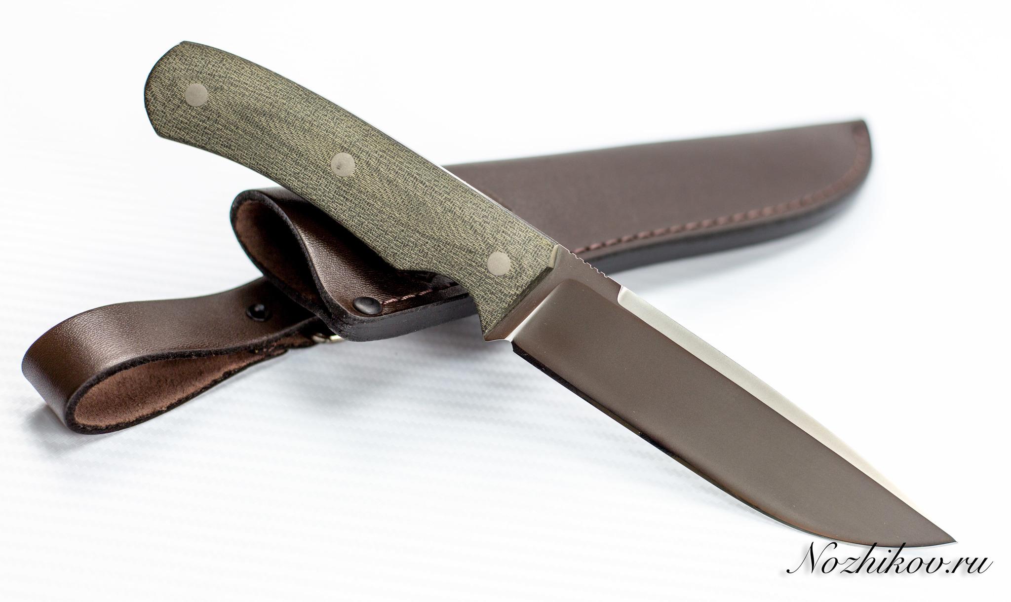 Нож Акула, Vanadis4, микартаНожи Ворсма<br>Нож Акула, Vanadis4, микарта<br>