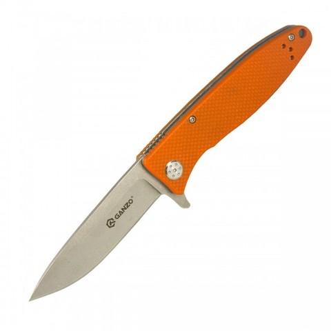 Нож Ganzo G728-OR, оранжевый - Nozhikov.ru