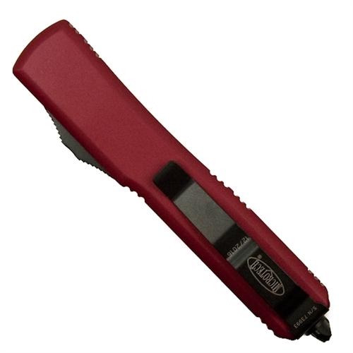 Фото 2 - Автоматический выкидной нож Ultratech Contoured Chassis Red-1 от Microtech