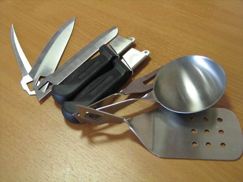 сколько ножей нужно в походе вкусные фото