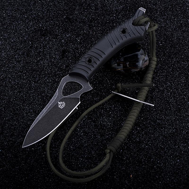 Фото 8 - Нож для выживания Тайник, черный от QSP
