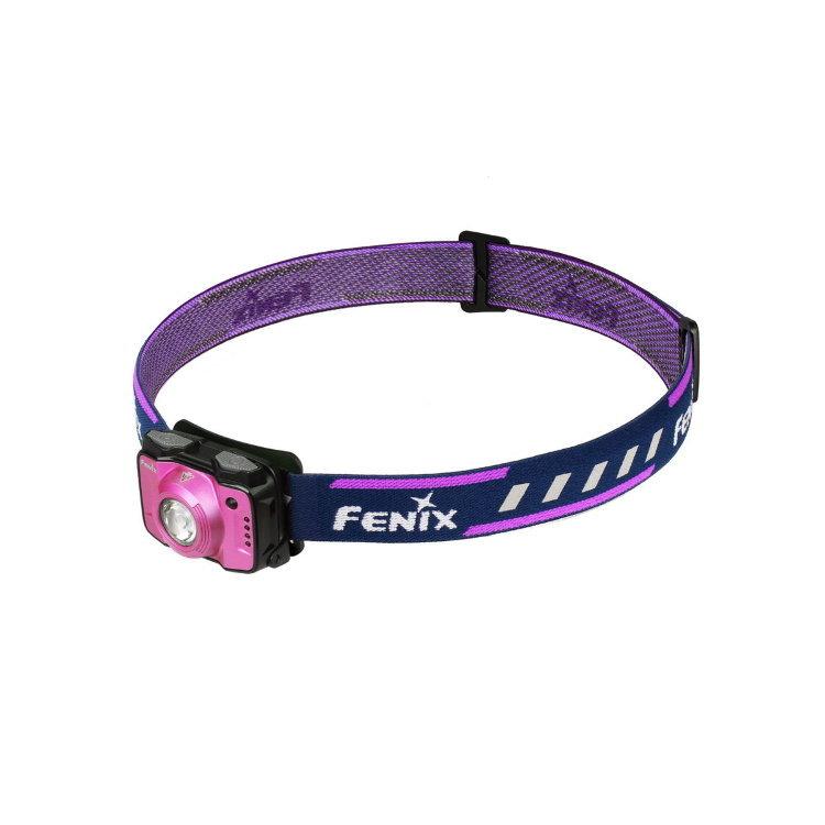 Налобный фонарь Fenix HL12R Cree XP-G2, розовыйСветодиодные фонари<br>Фонарь Fenix HL12 – компактная налобная модель для туризма и занятий спортом на природе. Этот фонарь укомплектован всем необходимым, чтобы надежно работать в полевых условиях и обеспечивать своему владельцу комфортные условия видимости в любой ситуации. Данный фонарь работает с двумя встроенными диодами: белым XP-G2производства американского бренда Cree и вспомогательным красным. Доступное для него количество рабочих режимов – 8. Но все эти режимы распределены между двумя группами, поэтому выбрать нужный будет не сложно. К тому же, система управления в данной модели сделана действительно логичной.<br>В группу General mode вошли 4 режима яркости белого света. Среди них наиболее яркий – это режим High, который дает 170 люмен света. В этом режиме фонарь светит на 36 метров вокруг. Энергии аккумулятора достаточно, чтобы поддерживать его на протяжении 8 часов. Следующий в прядке убывания яркости – режим Med. Его яркость равна 70 люмен, притом, что свет распространяется на 26 метров вокруг фонаря. Заряда встроенного аккумулятора хватает для работы фонаря в течение 13 часов. Еще ниже яркость в режиме Low- 30 люмен. В данном режиме фонарь освещает объекты в радиусе 17 метров, работая автономно до 33 часов. Наконец, в режиме Eco модель Fenix HL12 светит с яркостью 4 люмена. В данном случае радиус освещения составляет всего 7 метров, зато фонарь может работать беспрерывно до 110 часов.<br>Вторая группа режимов называется Functionalmode и объединяет 3 варианта освещения. Первый из них – это режим Red. Он дает постоянный красный свет, яркость которого равна 1 люмен. Радиус освещения составляет 3 метра, а время работы фонаря – 40 часов. С такой же яркостью и радиусом освещения работает режим RedFlash. Это мигающие вспышки красного света. Фонарь Fenix HL12 может работать в таком режиме 80 часов. Третий режим из группы – SOS. Яркость луча составляет 30 люмен, радиус освещения – 17 метров, а период работы фонаря 