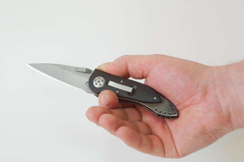 Фото 3 - Складной нож Elishewitz E-lock Black от CRKT