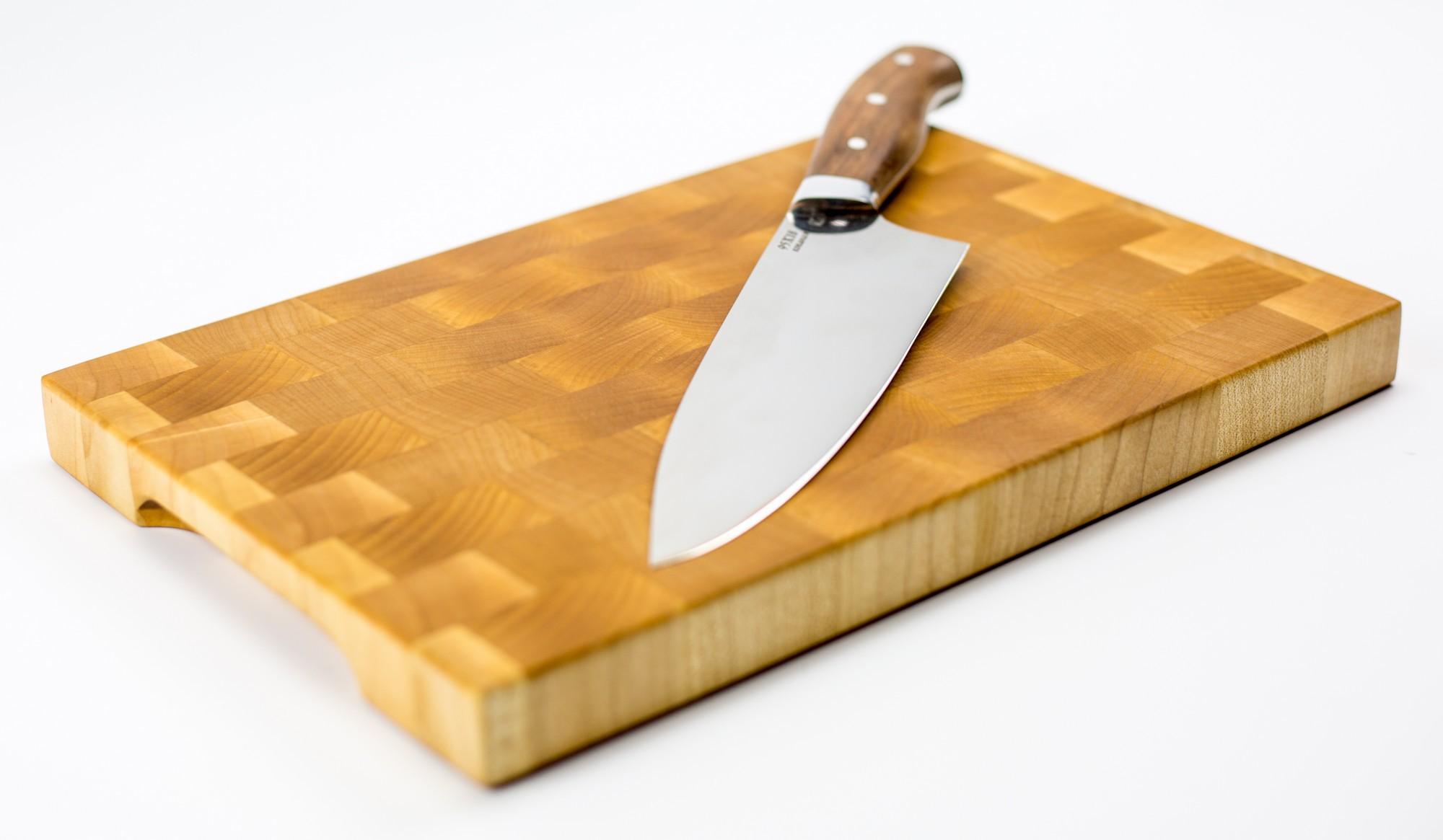 """Доска разделочная торцевая, клен, 20х30х2.5 см от Магазин ножей """"Ножиков"""""""