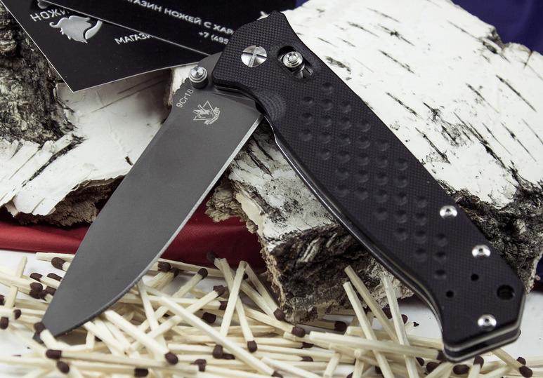 Складной нож Хират, черный